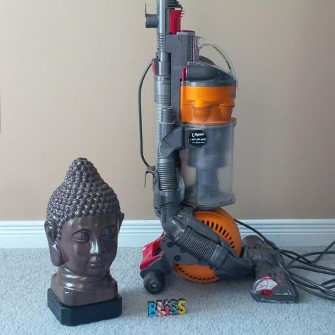 Cleaning with Buddha